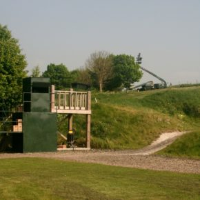Skeet layout at Barbury