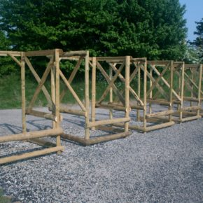 New Shooting stands at Barbury