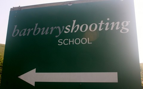 The Entrance to Barbury Shooting School