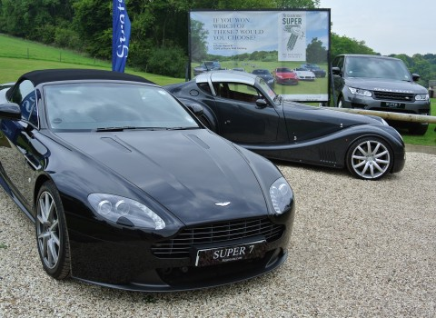 Aston, Morgan and Range Rover