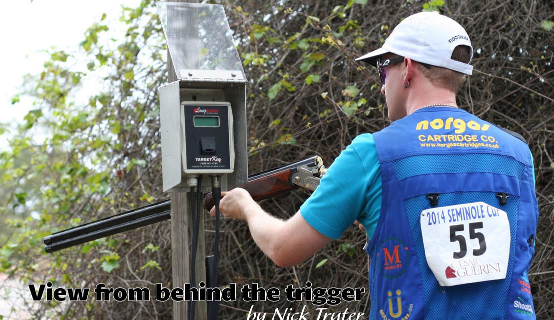 View from behind the Trigger – A day with Ed Solomons at Sporting Targets