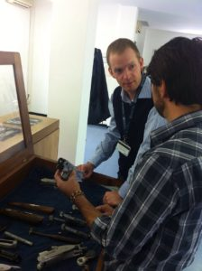 Getting to meet a true craftsman; Luca the Master Engraver