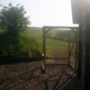 Shooting Areas and Shelters at Barbury