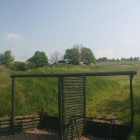 Shooting stands at Barbury