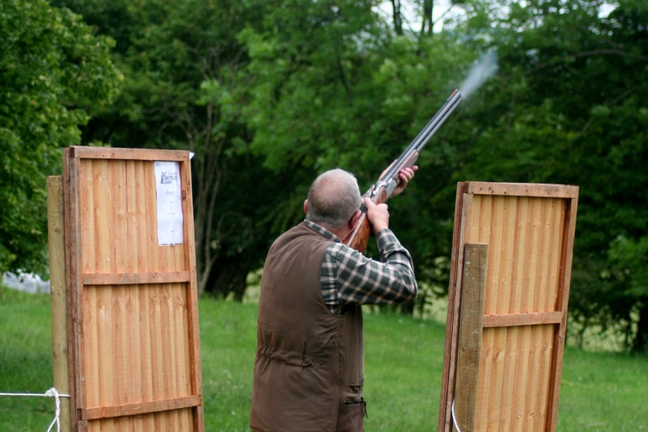 More Slow Motion Clay Shooting Video